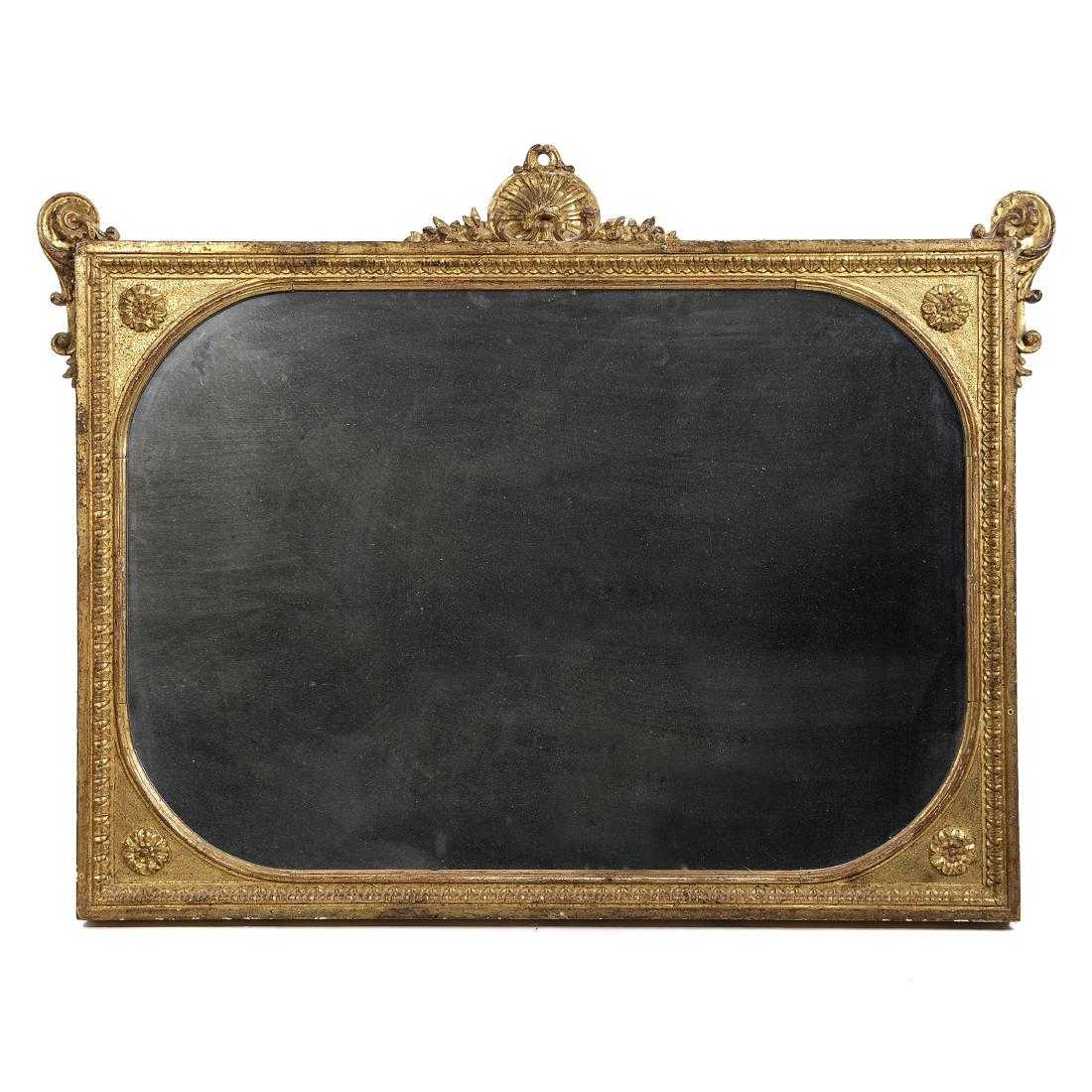 specchiera dorata stile Luigi XVI