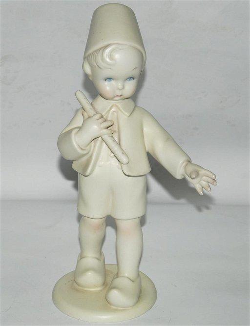big sale 80b1d 34edb Lenci statuina in ceramica raff.ragazzo con