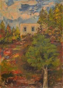 """Impressionism Landscape"" by Unknown Artist"