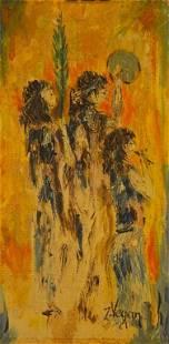 """Female musicians"" by Unknown Artist"
