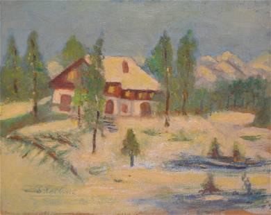 """""""Landscape"""" by Unknown Artist"""