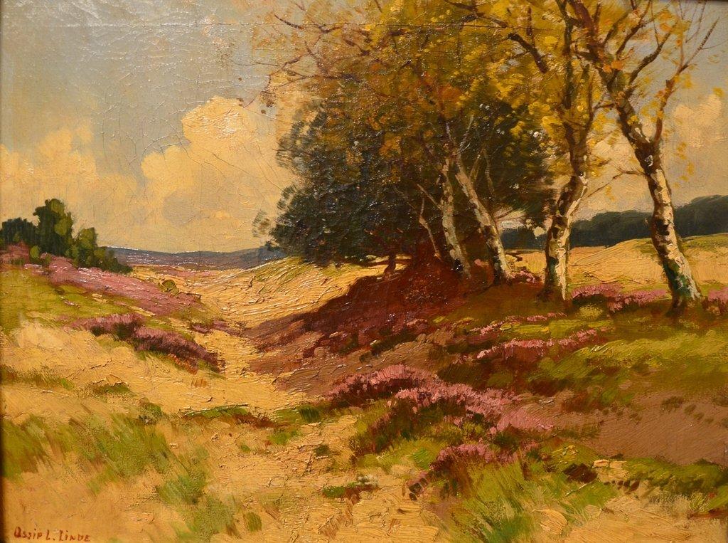 "Ossip L. LINDE (RUSSIAN/AMERICAN) ""Landscape"""