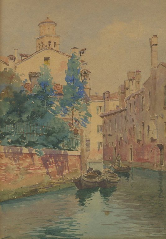 "Carlo MENEGAZZI (ITALIAN) ""Venice"""