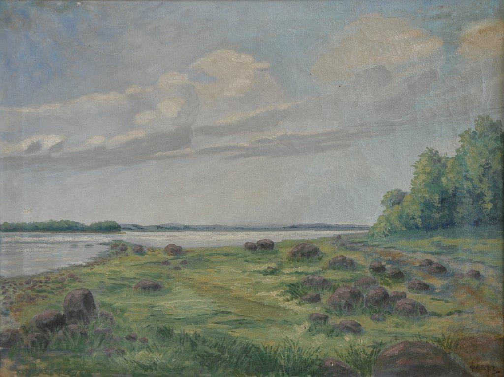 """Vladimir Georgievich FAVR (UKRAINIAN) """"Landscape"""""""