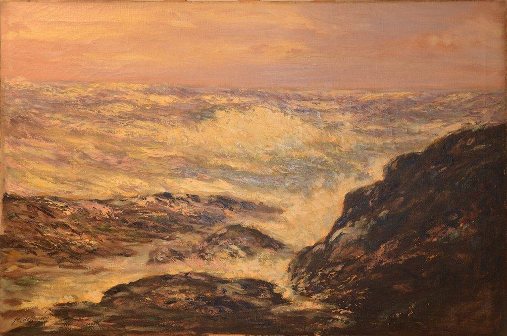 "Miles Jefferson EARLY (American) ""Seascape"""
