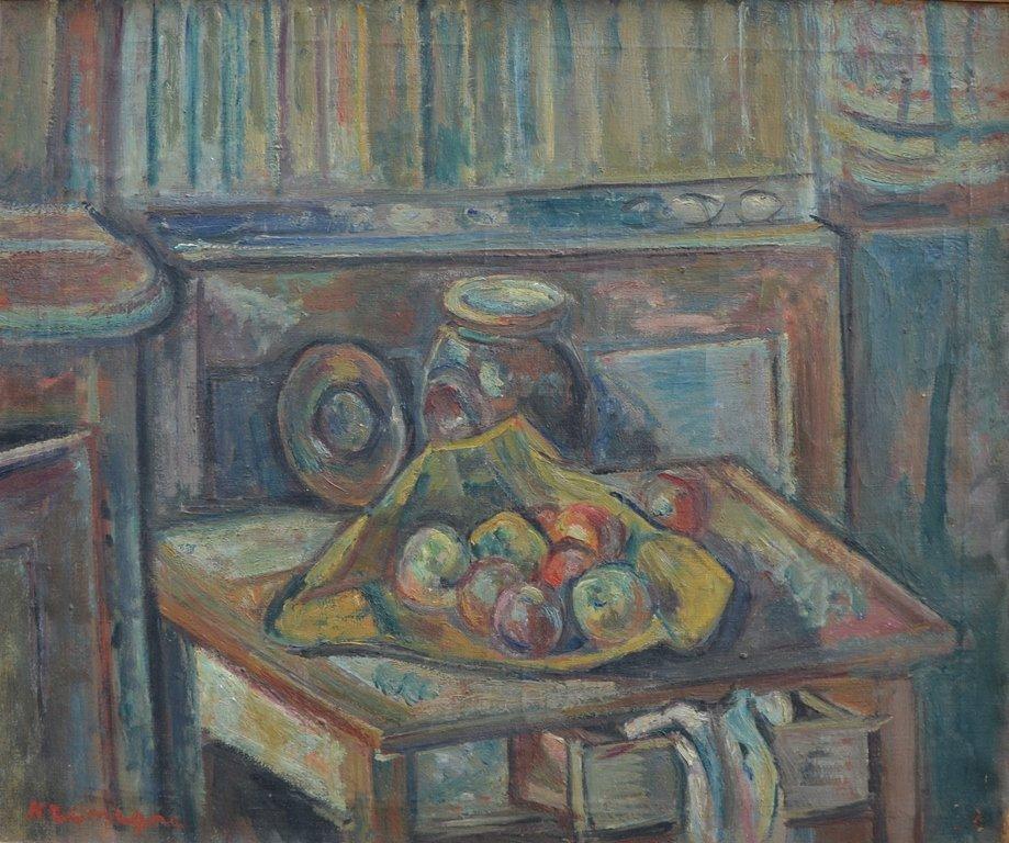 "Pinchus KREMEGNE (BELARUSSIAN/FRENCH) ""Still-life"""