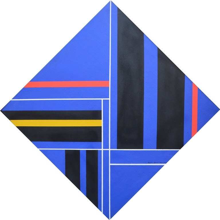 "Ilya BOLOTOWSKY (RUSSIAN/AMERICAN) ""Abstract"""