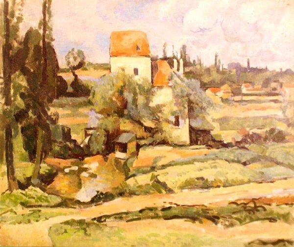 6: Landscape After Cezanne Painting  Edmund F. Ward