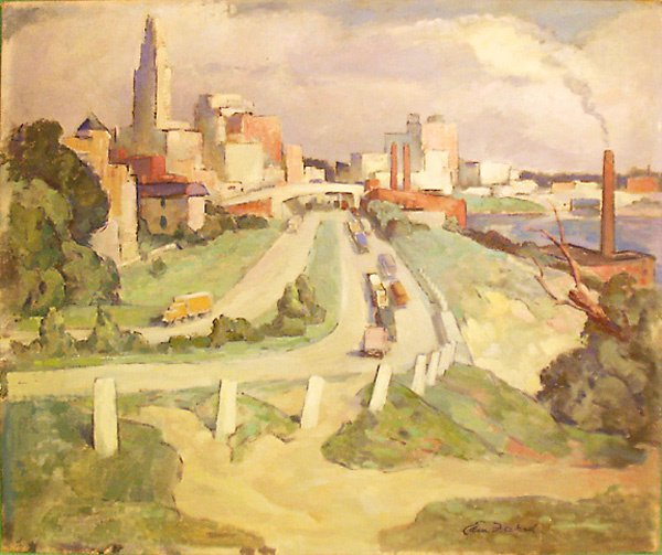 8: Road to the City Painting by Edmund Franklin Ward