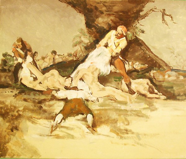10: Copy from Goya Painting by Edmund Franklin Ward