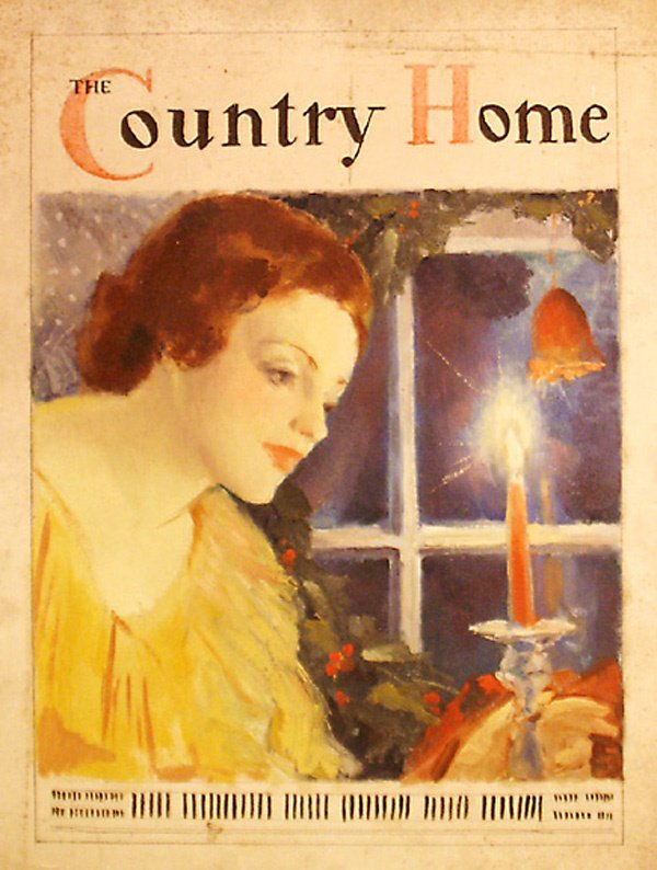 11: Illustration  Country Home Mag Ptg  Edmund F. Ward
