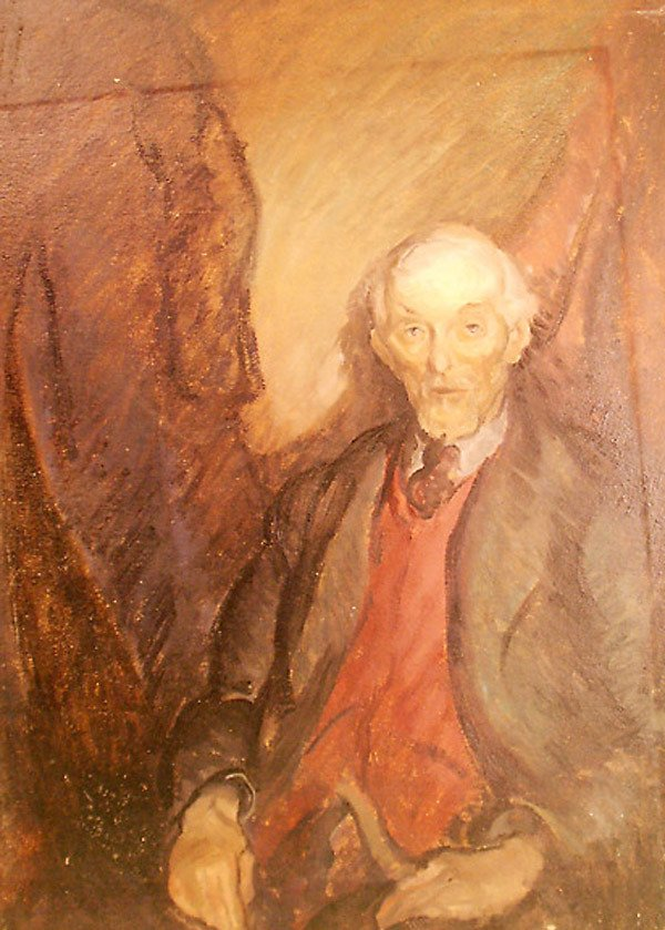 24: Old Man Painting by Edmund Franklin Ward