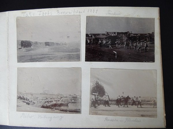 Late Qing Photos Album By German Army Officer - 5