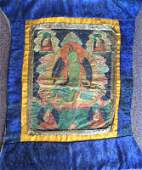 Antique Color Tibetan Thangka