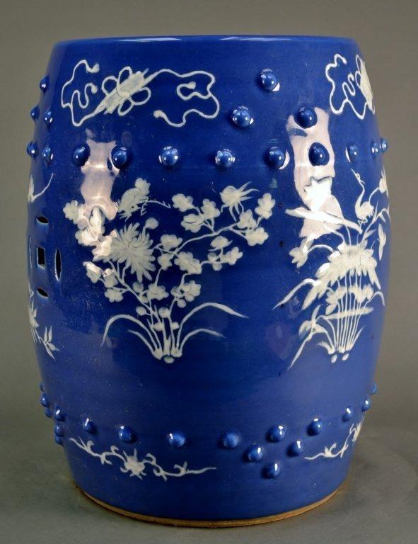 Chinese Porcelain Garden Stool