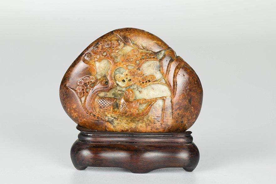 Stone Carvings-Fishing