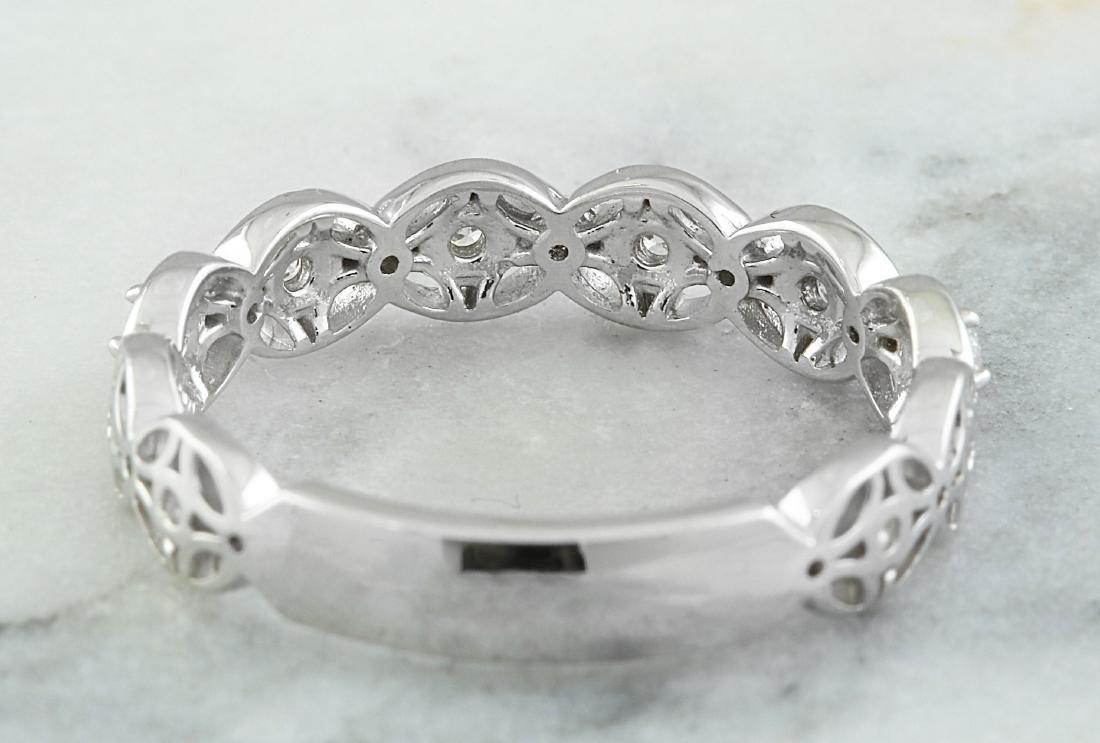 0.25 Carat 14K White Gold Diamond Ring - 3