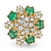 350 Carat Natural Emerald 18K Solid Yellow Gold