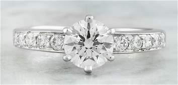Authentic 116 Carat TiffanyCo Platinum Diamond Ring