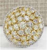 712Carat Natural Diamond Ring In 14K White Gold