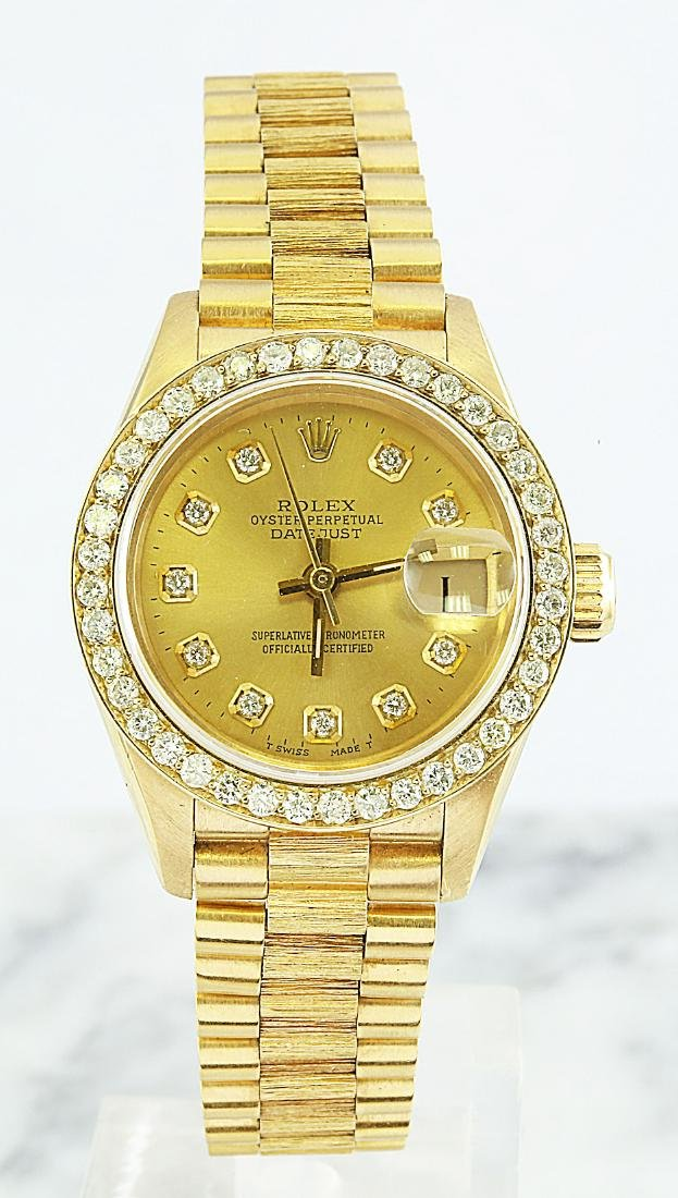 Authentic Rolex President Datejust 31mm 18K Yellow Gold