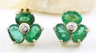 290 Carat Natural Emerald 18K Solid Yellow Gold