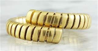 Authentic Bvlgari 18K Yellow Gold Ring