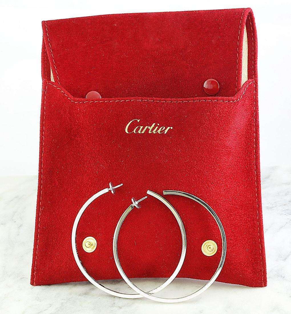 Authentic Cartier 3.15 Carat 18K White Gold Diamond