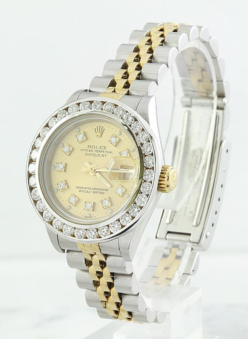 Rolex Oyster Perpetual Datejust Diamond Watch - 2