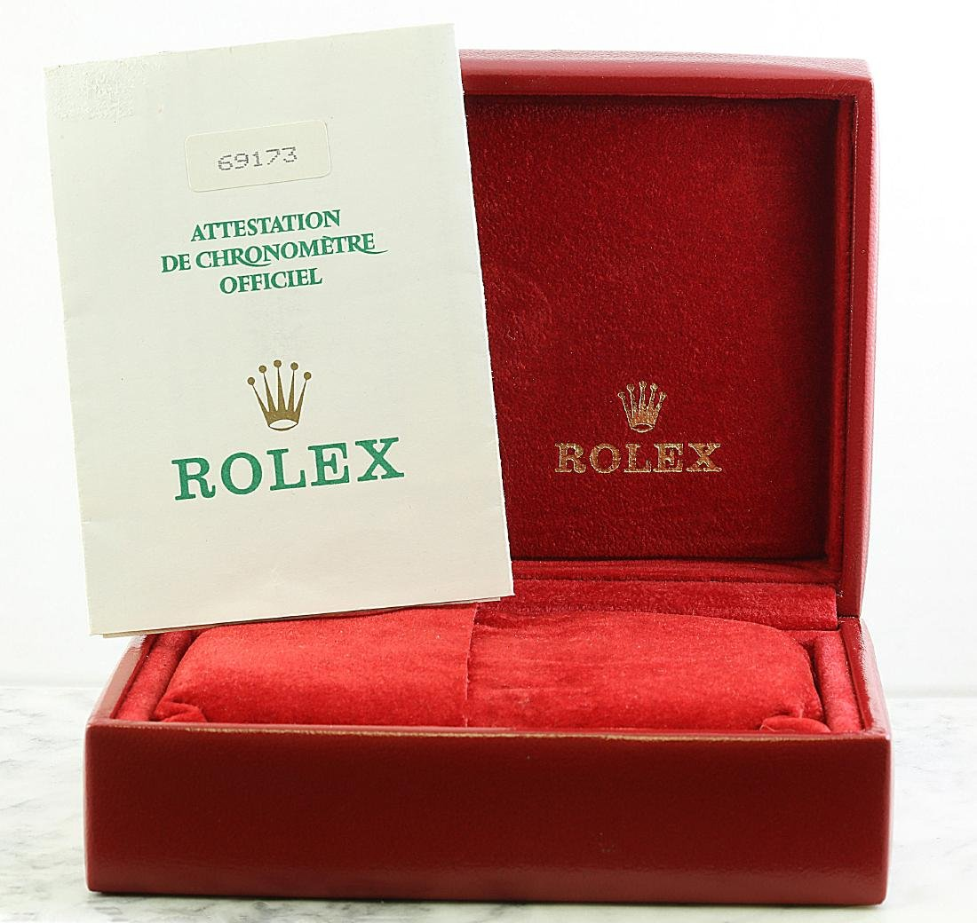 Rolex Oyster Perpetual Datejust Diamond Watch - 6
