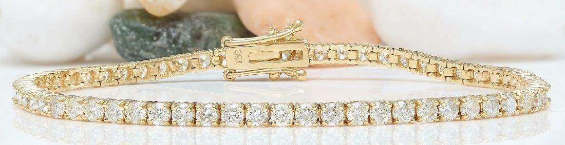 4.68 Carat Natural Diamond 18K Solid Yellow Gold