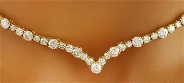 14.10 Carat Natural Diamond 18K Solid Yellow Gold