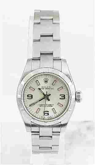 Authentic Rolex Oyster Perpetual Stainless Steel Watch