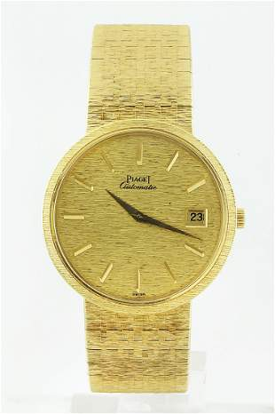 Authentic Piaget 18K Yellow Gold Watch