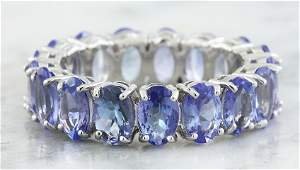 578 CTW Tanzanite 14K White Gold Ring