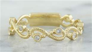 0.15 CTW 18K Yellow Gold Diamond Ring