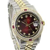Pre-owned Rolex Mens Datejust 36mm Jubilee