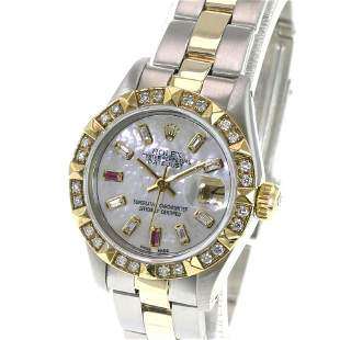 Pre-owned Rolex Ladies Datejust 26mm Jubilee Band