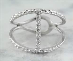 0.10 CTW 14K White Gold Diamond Ring
