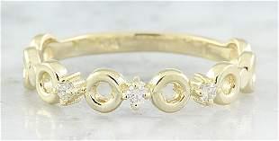 0.07 CTW Diamond 14K Yellow Gold Ring