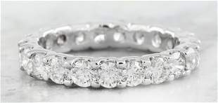 2.78 CTW Diamond 18K White Gold Ring