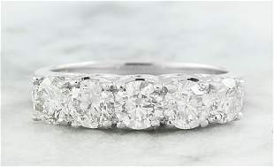 1.90 CTW Diamond 18K White Gold Ring