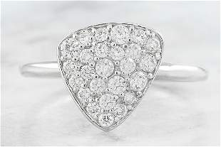 0.42 CTW Diamond 14K White Gold Ring