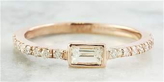 0.43 CTW Diamond 14K Rose Gold Ring