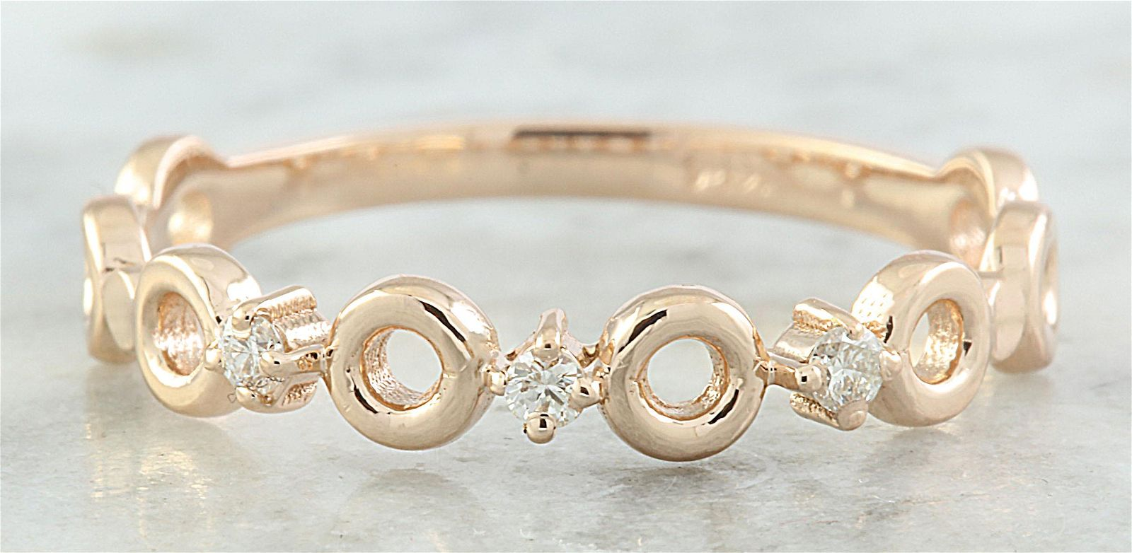 0.07 CTW Diamond 14K Rose Gold Ring