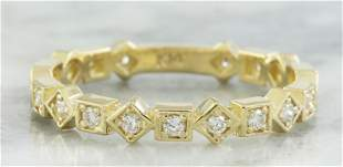 0.30 CTW Diamond 14K Yellow Gold Ring