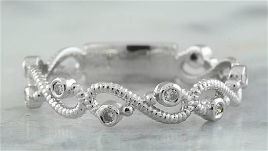 0.15 CTW 14K White Gold Diamond Ring