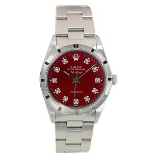 Pre-owned Rolex Air-King 34mm Oyster Band