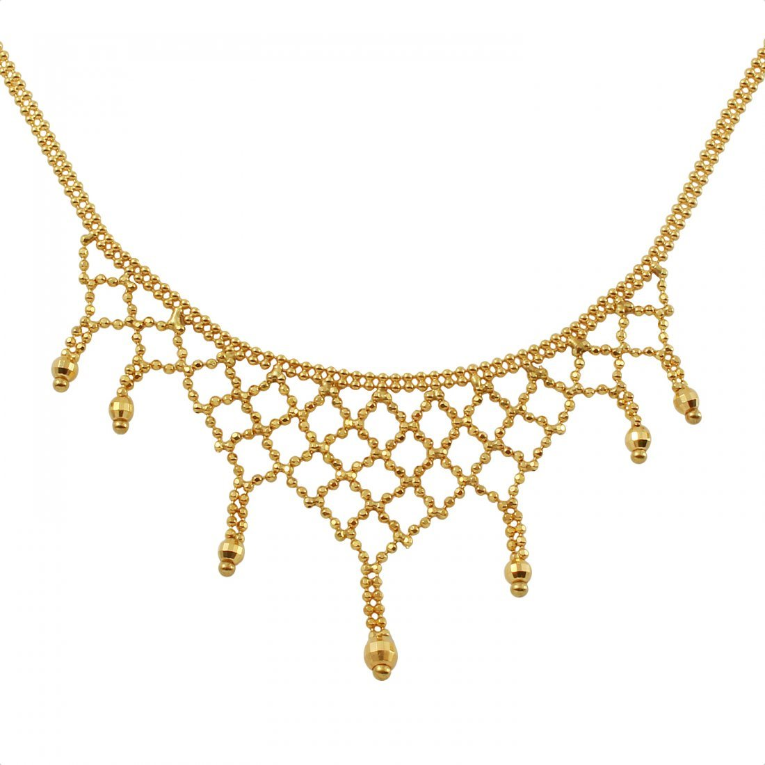 Ladies 18k Yellow Gold Necklace