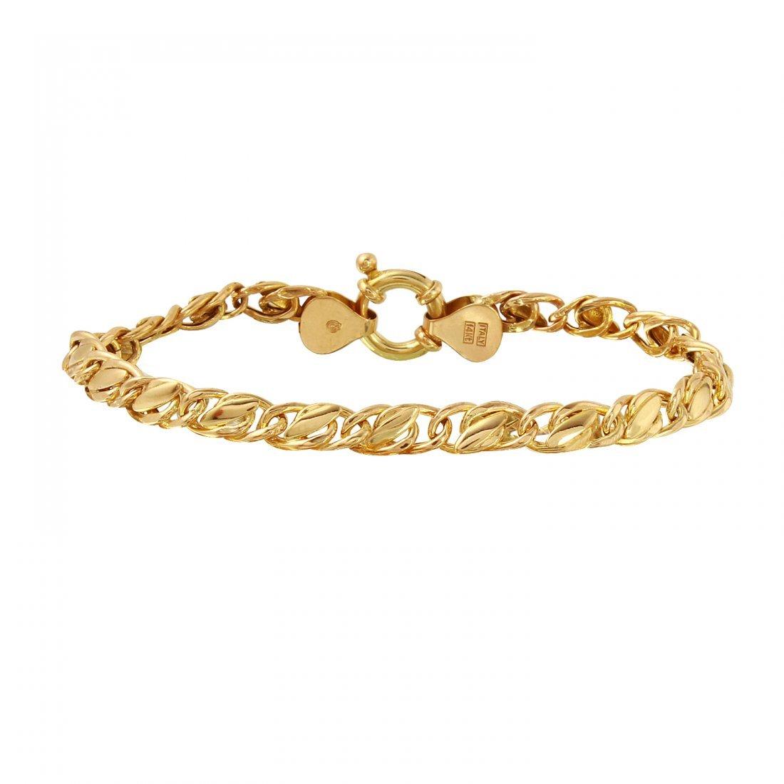 Ladies 14K Yellow Gold Bracelet